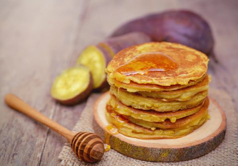 sweet potato pancakes small