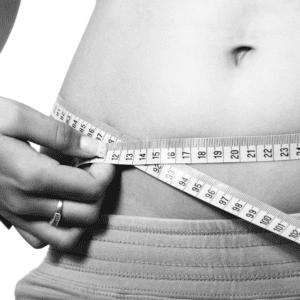 weight loss black white